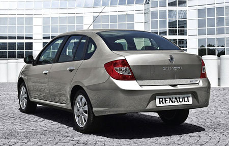 new renault symbol sedan based on renault clio. Black Bedroom Furniture Sets. Home Design Ideas