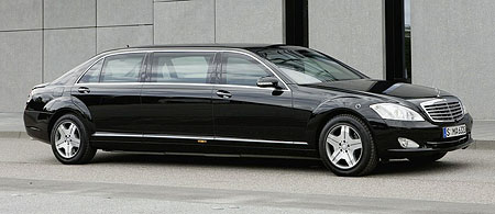 mercedes-benz s600 pullman guard limousine