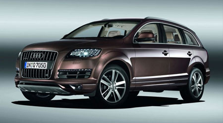 Audi Q Gets Its Midlife Facelift - Audi family car 7 seater