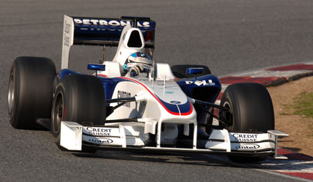 BMW Sauber F1.08B