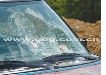 Broken BMW