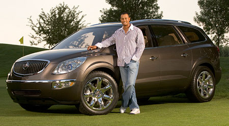 Buick Enclave Tiger Woods