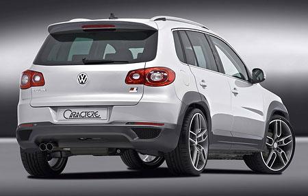 Caractere Volkswagen Tiguan