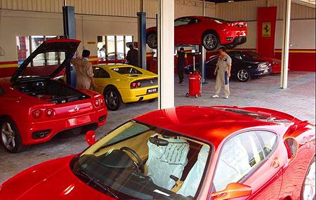 Ferrari Service Center