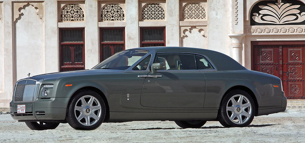 6.75L Rolls-Royce Phantom Coupe goes on sale in the Middle East!