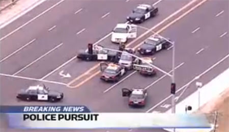 US Cop Chase