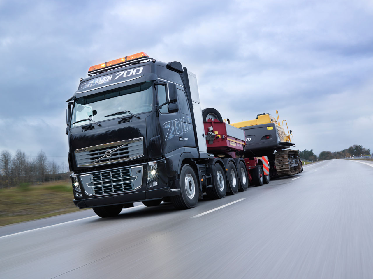 Volvo FH16 is the most powerful truck in the world!