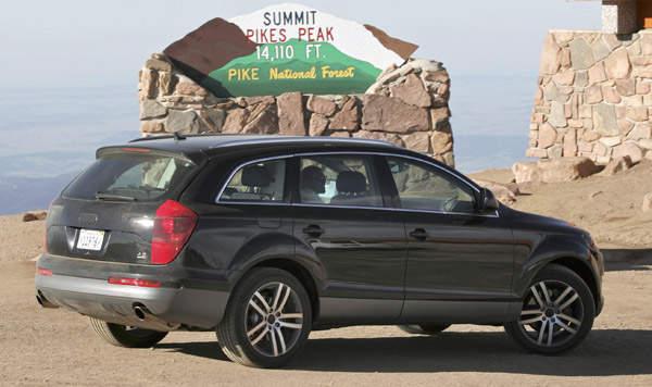 Audi Q7 SUV Pikes Peak Audi Q on audi rs5 pikes peak, audi quattro pikes peak, audi s1 pikes peak, audi r8 pikes peak, ford rs200 pikes peak, toyota tacoma pikes peak,