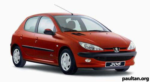 Naza to make Peugeot 206 1.4