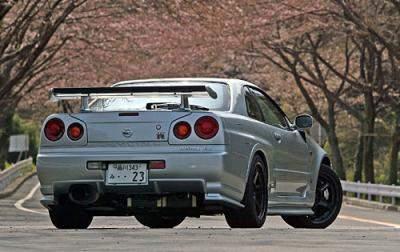 Nissan Skyline R34 Tuning Nissan Skyline R34 Gt-r Z-tune