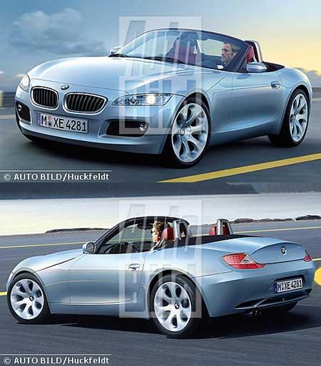 Bmw Z4 Hardtop: 2010 BMW Z8 Artist Impression