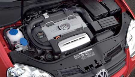 how to use accelorator engine bay vw golf mk7