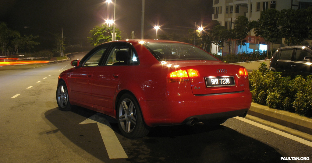 Audi A4 2 0T FSI Multitronic Test Drive Review