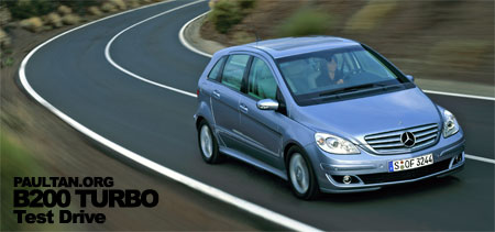 Mercedes Benz B200 Turbo Short Test Drive Review