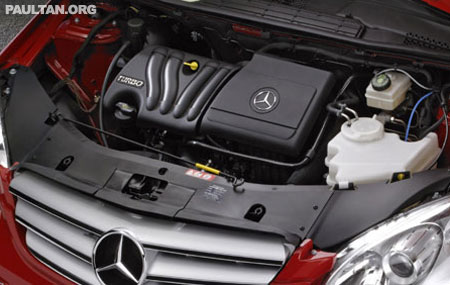 Mercedes Benz Inline-4 engines: M266 vs M271