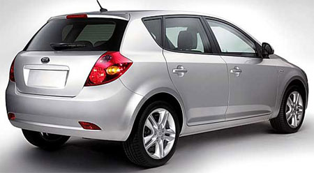 kia cee 39 d to debut at the 2006 paris motor show. Black Bedroom Furniture Sets. Home Design Ideas