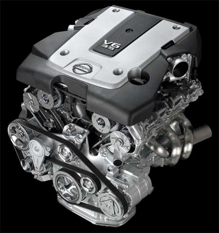 Nissan announces new VQ35HR and VQ25HR