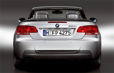 BMW 3 Convertible M Sport Rear