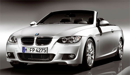 BMW 3 Convertible M Sport Front