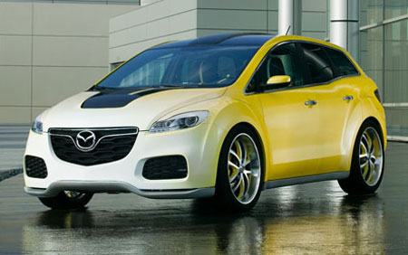 Pimped up Mazda CX-7 concepts by Mazda USA