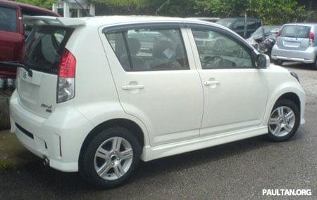 Perodua Myvi SE 2