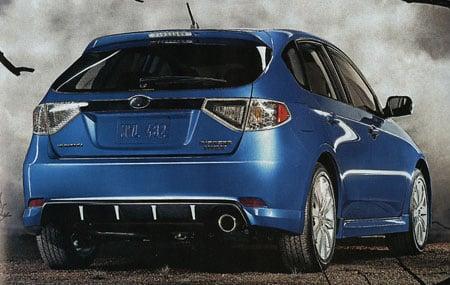 Subaru Impreza Version 10 Revealed