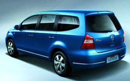Nissan Grand Livina To Arrive In 2nd Half 2007