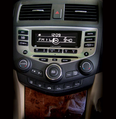 2006 Honda Accord Facelift In Malaysia