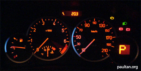 naza 206 bestari in depth review rh paultan org Ford Fusion Dashboard Peugeot 206 Interior