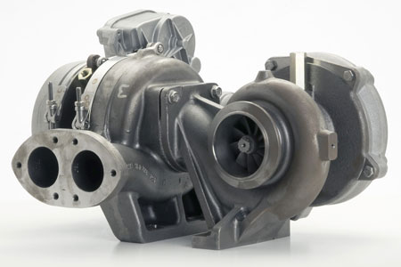 BorgWarner R2S Turbocharger Image