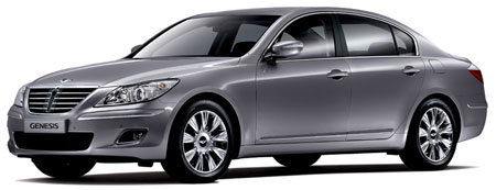 Hyundai Genesis for Korean Domestic Market