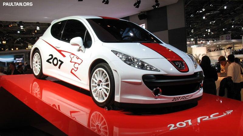 2006 Paris Motor Show Gallery Peugeot 207 Rcup
