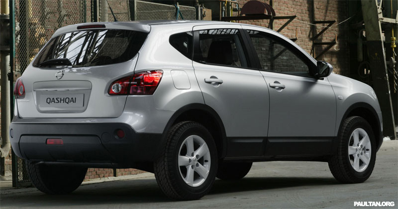 2007 nissan qashqai unveiled with photos. Black Bedroom Furniture Sets. Home Design Ideas