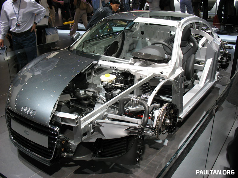 2006 Paris Motor Show Gallery: Audi R8