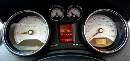 308 GT Meter Panel
