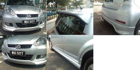 Perodua Myvi Bodykit