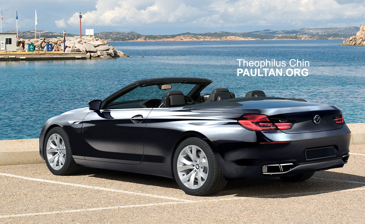 bmw 6 series coupe cabriolet artist 39 s impressions. Black Bedroom Furniture Sets. Home Design Ideas