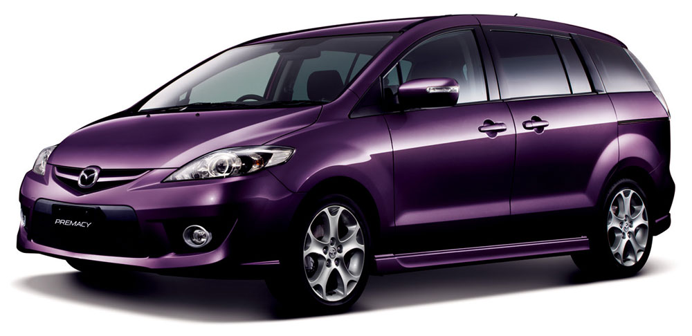 Mazda Premacy Gets Updated For 2010 In Japan