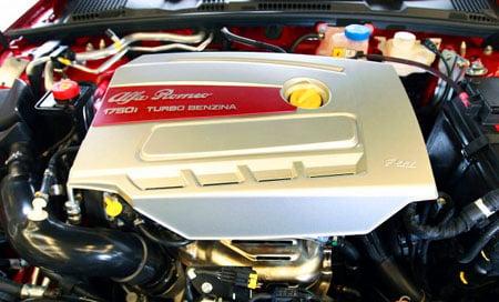 Alfa Romeo's new 1750 TBi turbo engine
