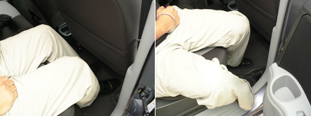 Perodua Alza 2nd row exit problem