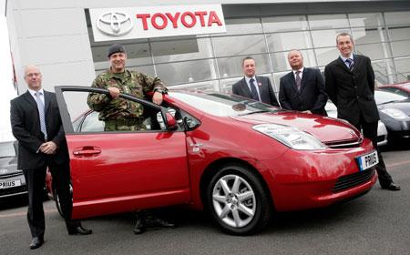 Army Toyota Prius