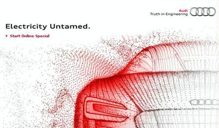 Audi Electricity Untamed