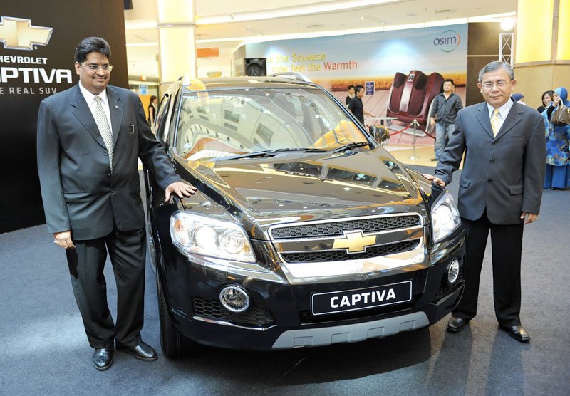 Chevrolet Captiva Seater Suv Updated In Malaysia With New Features