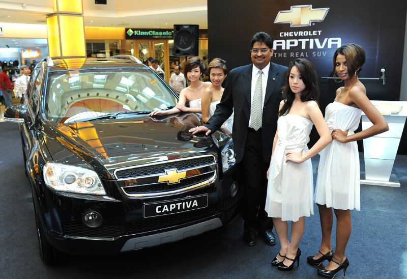 Chevrolet Captiva 7seater SUV updated in Malaysia with new features