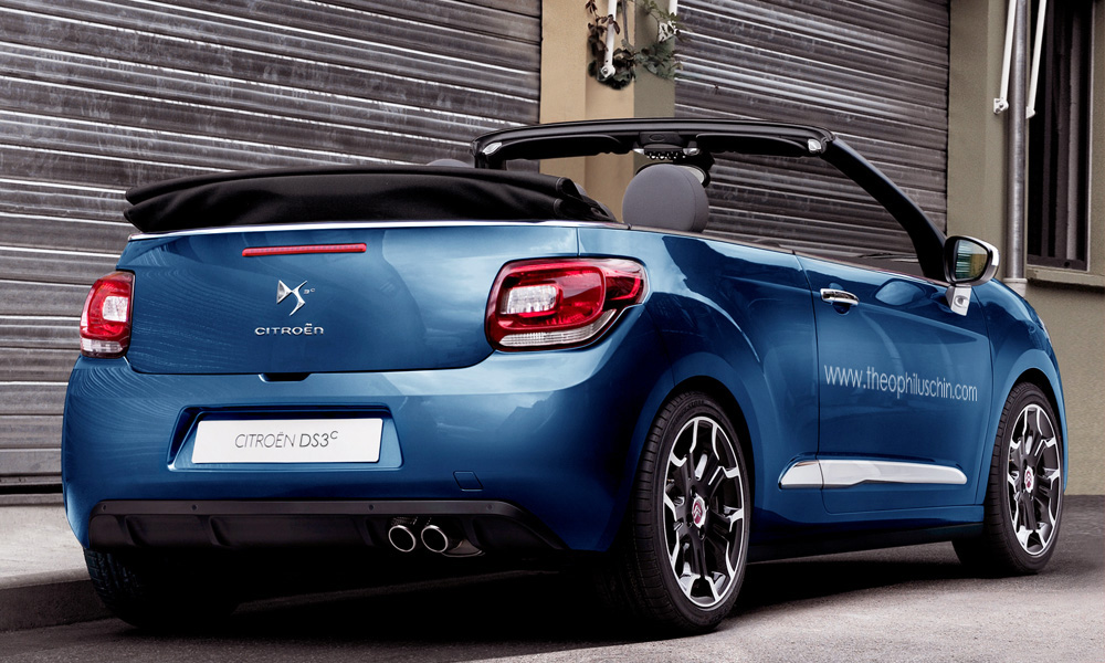 photoshopped citroen ds3 convertible. Black Bedroom Furniture Sets. Home Design Ideas