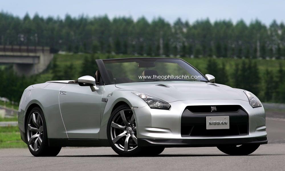 Nissan Skyline Gtr For Sale >> Photoshopped: Nissan GT-R Convertible?