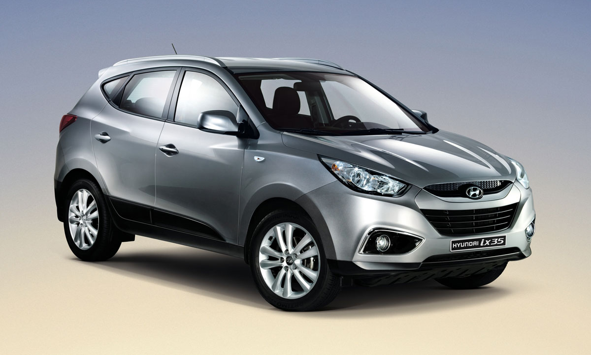 first full view of the hyundai ix35 released. Black Bedroom Furniture Sets. Home Design Ideas