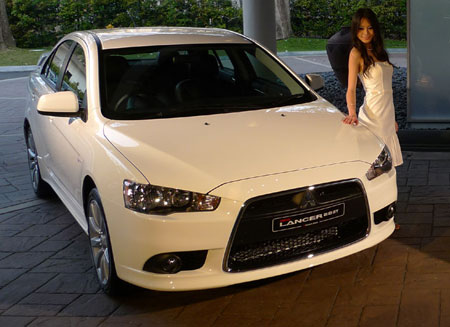 mitsubishi lancer 2 0 gt facelifted in malaysia. Black Bedroom Furniture Sets. Home Design Ideas