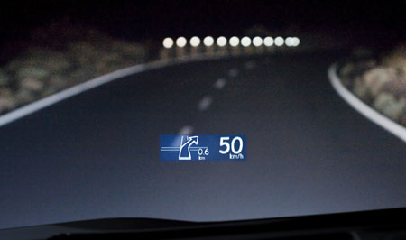 Lexus Rx 450h Features Heads Up Display