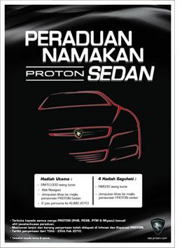 Proton Sedan